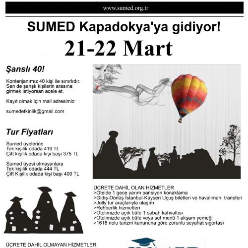SUMED Kapadokya'ya gidiyor!