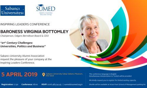 İlham Veren Liderler Konferansı / Inspiring Leaders Conference : Baroness Virginia Bottomley