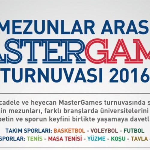 Mastergames 2016 Başlıyor!