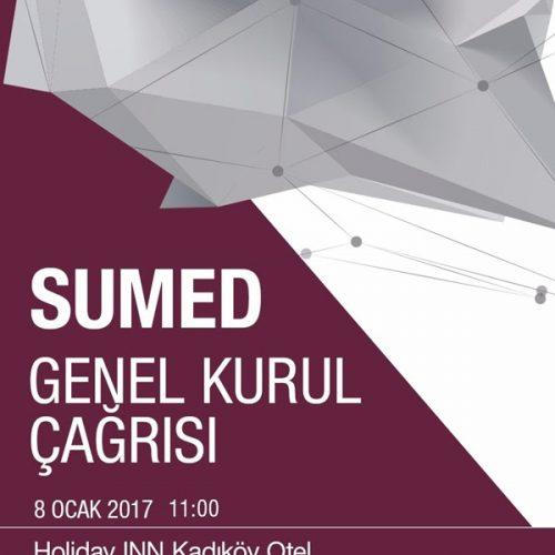 SÜMED Genel Kurul: 8 Ocak – Holiday Inn Kadıköy