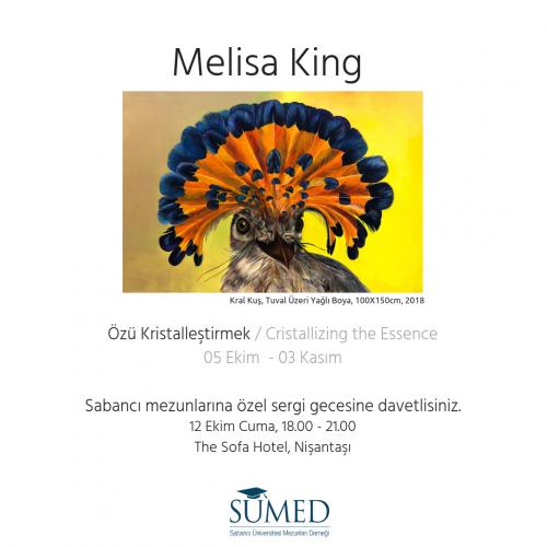 SÜMED – Melisa King Sergi Buluşması