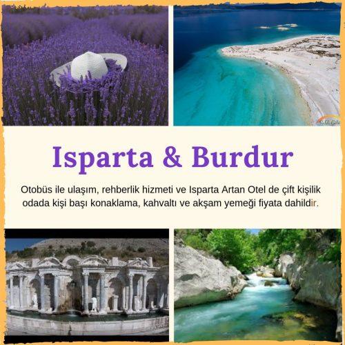 ISPARTA & BURDUR GEZİSİ / 27-28 Temmuz