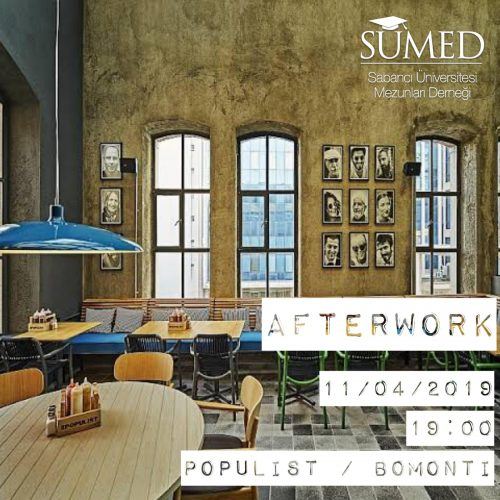 Afterwork: 11 Nisan Perşembe – The Populist